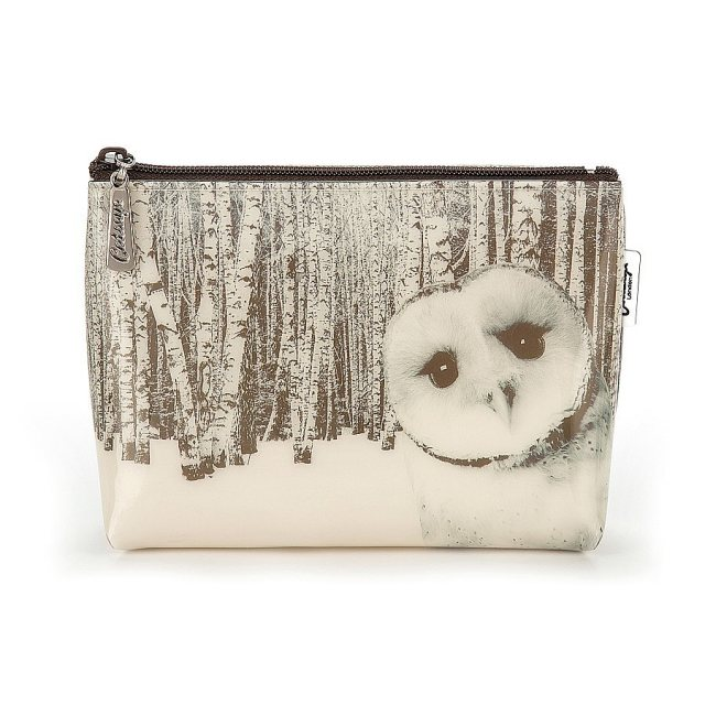 Catseye London Catseye Owl in Woods Make-Up Bag