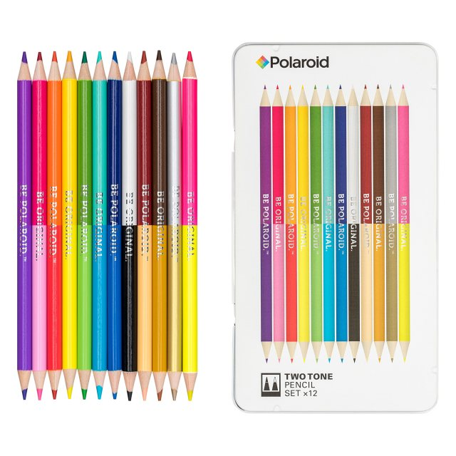 Polaroid Polaroid Two-Tone Spectrum Pencil Set