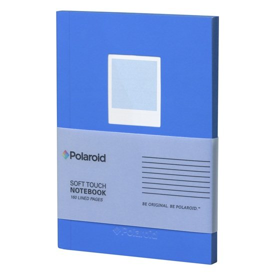 Polaroid Polaroid Blue Soft Touch Small Notebook