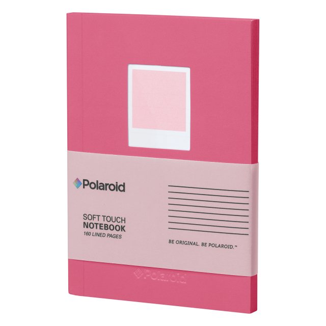 Polaroid Polaroid Pink Soft Touch Small Notebook
