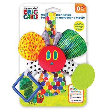 The Very Hungry Caterpillar VHC Mirror Teether Rattle