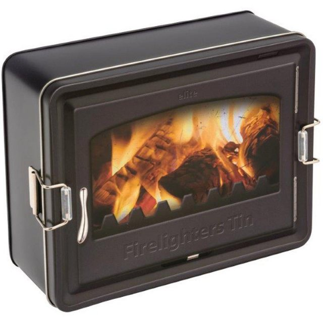 Firelighters Latch Storage Tin