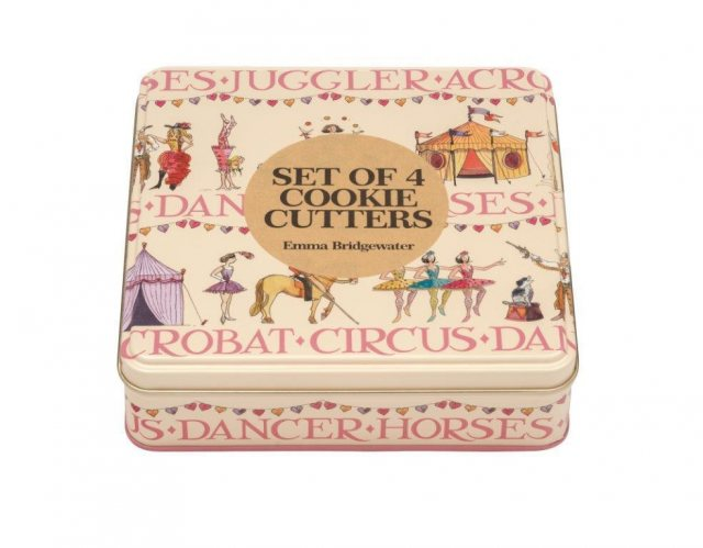 Emma Bridgewater Emma Bridgewater Circus Cookie Cookie Cutters in Tin