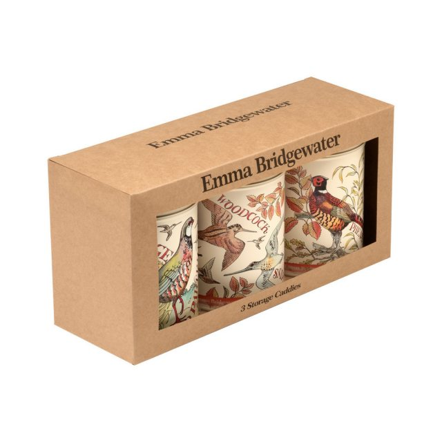 Emma Bridgewater Emma Bridgewater Game Birds S/3 Caddies
