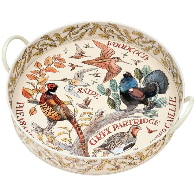 Emma Bridgewater Emma Bridgewater Game Birds Large Handled Tray