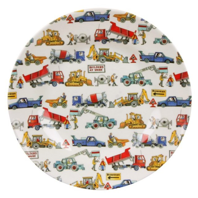 Emma Bridgewater Emma Bridgewater Builders At Work Melamine Plate