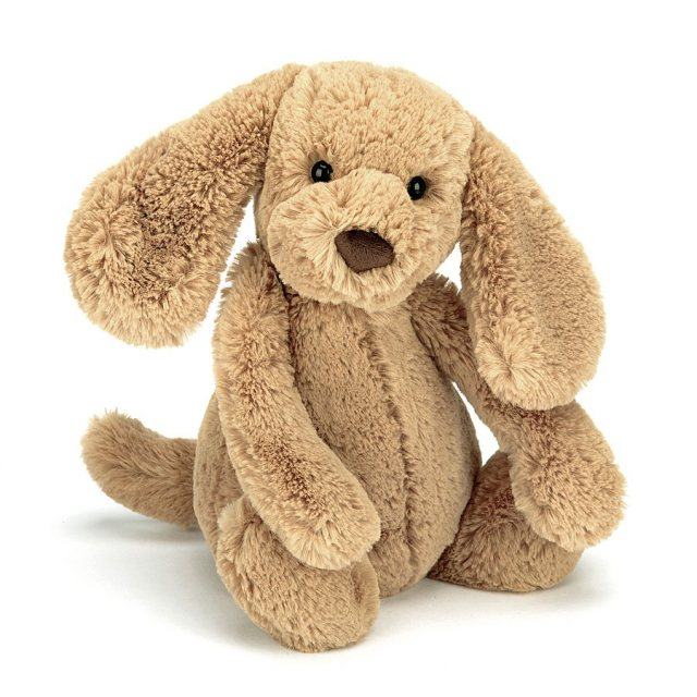 Jellycat Soft Toys Jellycat Bashful Toffee Puppy