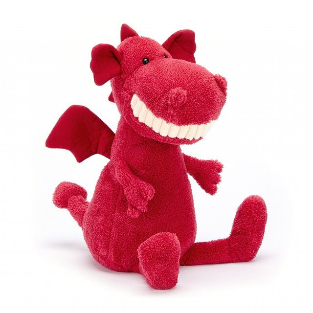 Jellycat Soft Toys Jellycat Medium Toothy Dragon