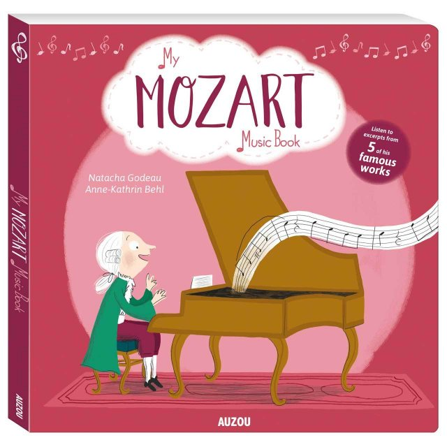 My Mozart Music Sound Book