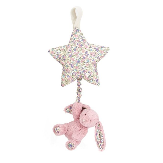 Jellycat Soft Toys Jellycat Blossom Tulip Bunny Star Musical Pull