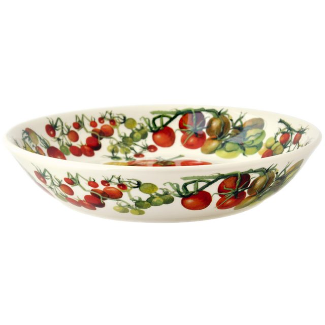 Emma Bridgewater Emma Bridgewater Vegetable Garden Tomatoes Medium Pasta Bowl