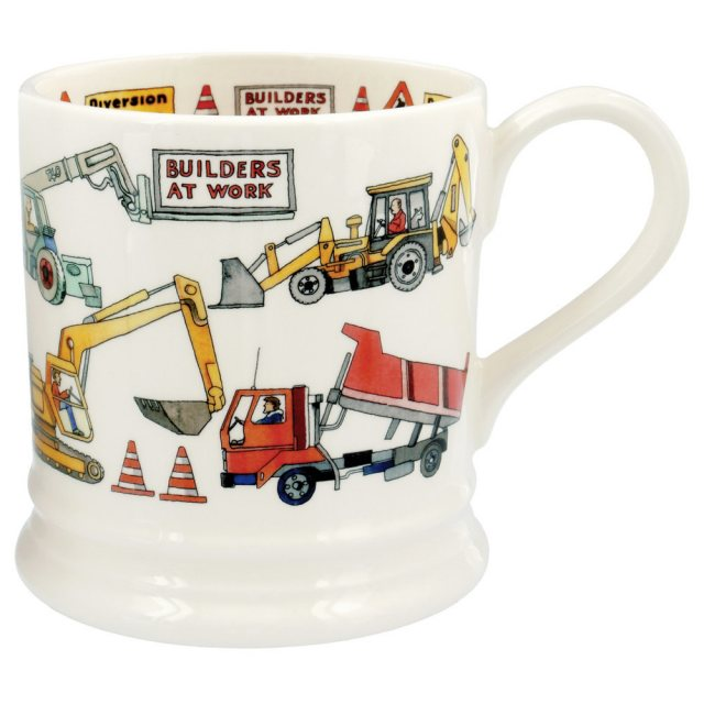 Emma Bridgewater Emma Bridgewater Builders At Work 1pt Mug