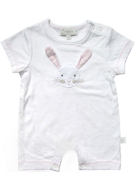 Bunny Applique Romper 6-12m