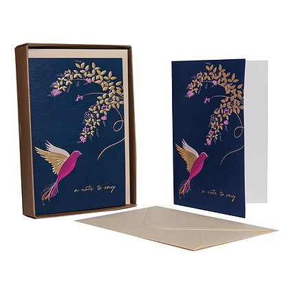 Sara Miller London Sara Miller Hummingbird 'A Note to Say' Notecard Set