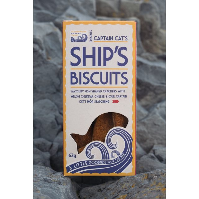 Original Captains Cats Fish Biscuits