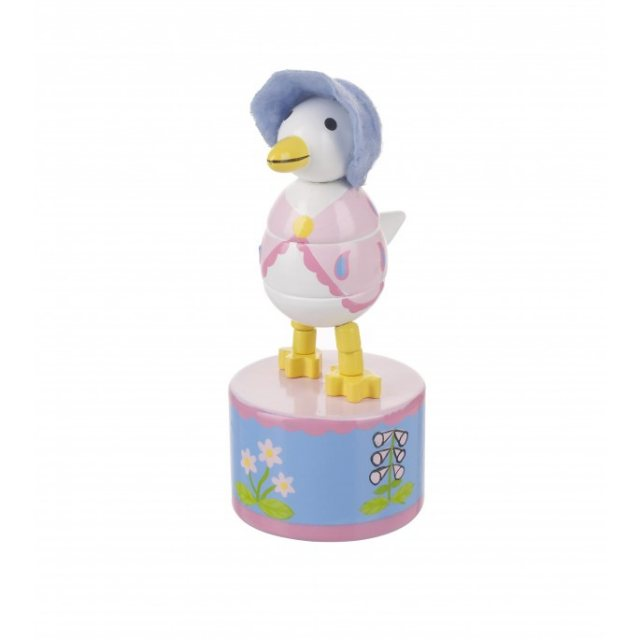 Peter Rabbit Jemima Puddle-Duck Wooden Push Up