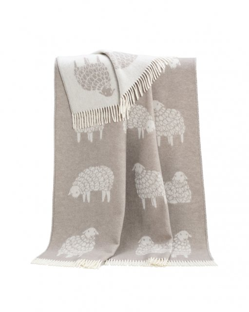 JJ Textiles Mima Pure Wool Throw