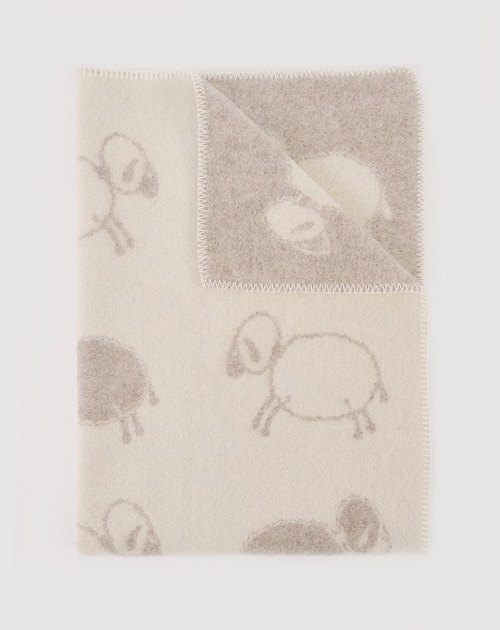 JJ Textiles Crazy Sheep Small Blanket