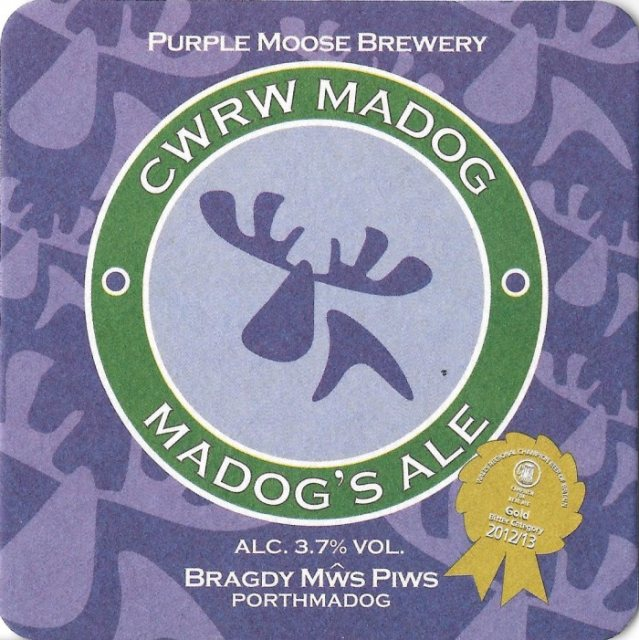 Purple Moose Cwrw Madog