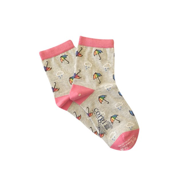 Welsh Weatherman Welsh Weatherman Corgi Women's Socks Rain Size Medium