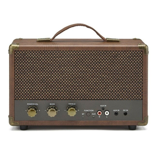 GPO Retro GPO Westwood Speaker Brown