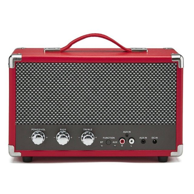 GPO Retro GPO Westwood Speaker Red