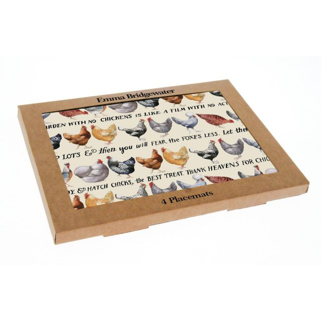 Emma Bridgewater Emma Bridgewater Hens Set of 4 Placemats