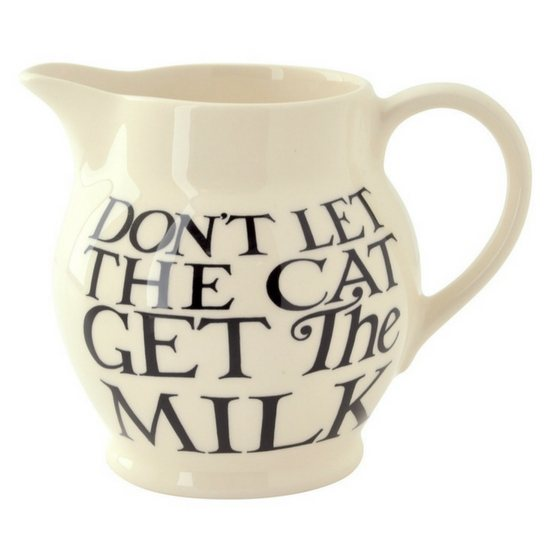 Emma Bridgewater Black Toast All Over 0.5pt Jug