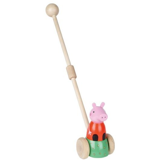 Peppa Pig Peppa Pig Wooden Push Along
