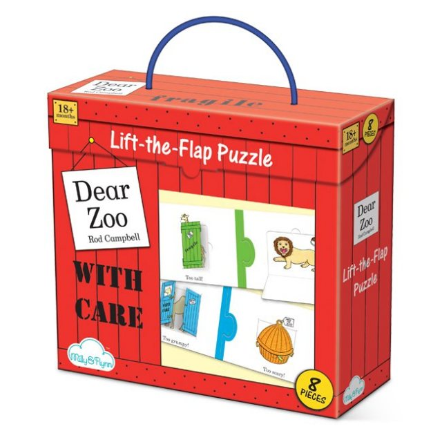 Dear Zoo Dear Zoo Lift The Flap Puzzle