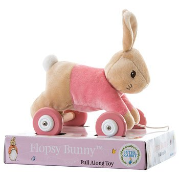 Peter Rabbit Flopsy Bunny Pull Along