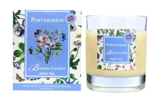 Portmeirion Portmeirion Botanic Garden Sweet Pea Wax Filled Glass