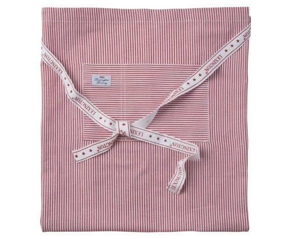 Lexington Lexington Living Authentic Red Striped Oxford Half Apron