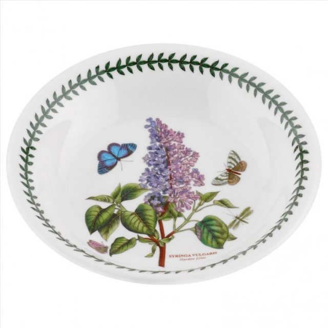 "Portmeirion Botanic Garden Seconds 8"" Pasta Bowl No Guarantee of Flower Design"
