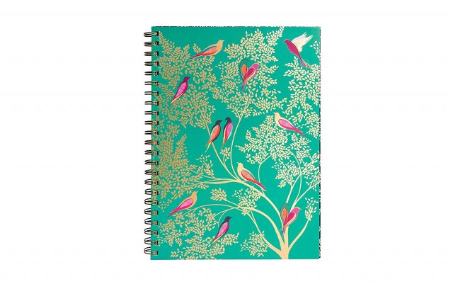 Sara Miller London Sara Miller Birds in Tree A4 Notebook