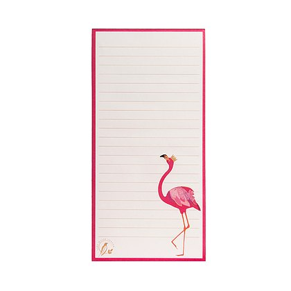 Sara Miller London Sara Miller Flamingo Magnetic Jotter Pad