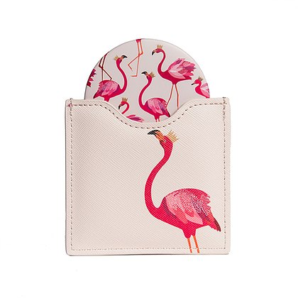 Sara Miller London Sara Miller Flamingo Luxury Cosmetic Mirror