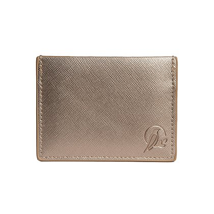 Sara Miller London Sara Miller Gold Travel Card Holder