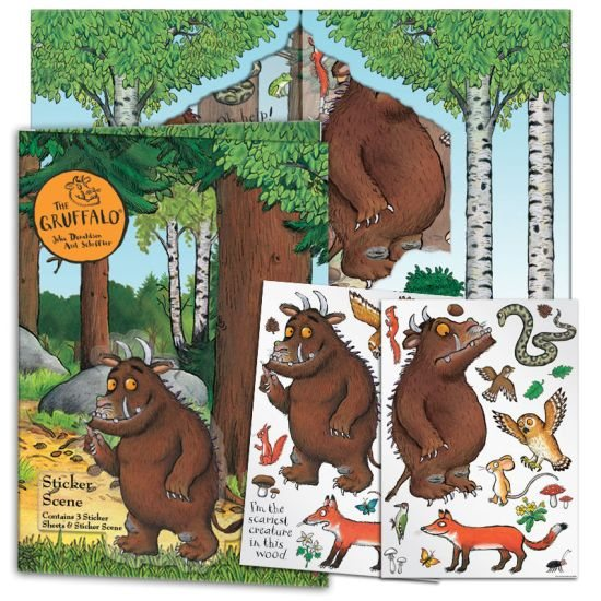 The Gruffalo Gruffalo Sticker Scene With Stickers