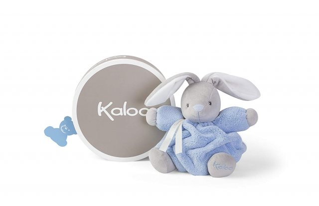 Kaloo Kaloo Plume Medium Chubby Rabbit Blue