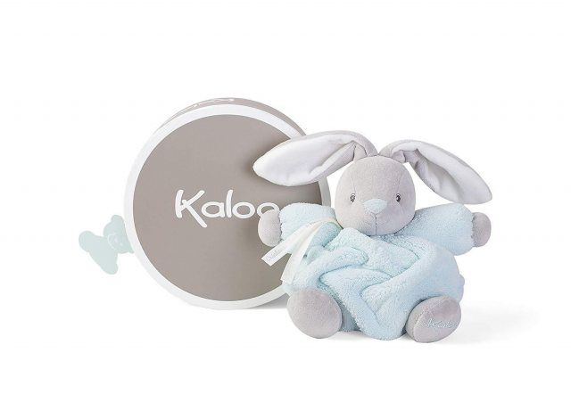 Kaloo Kaloo Plume Medium Chubby Rabbit Aqua