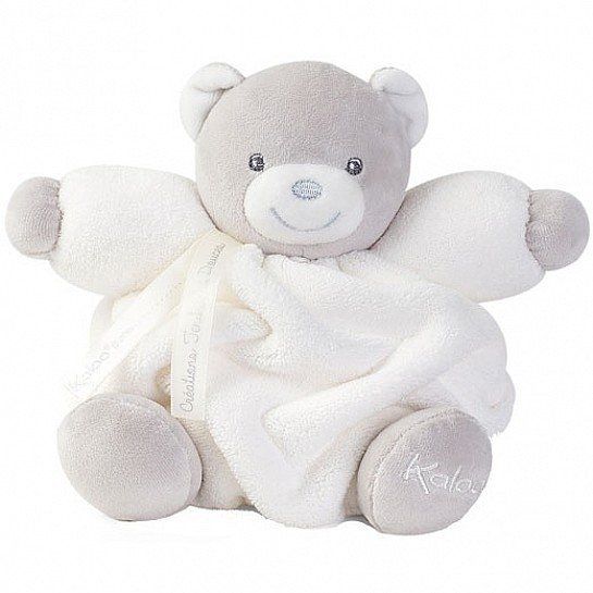 Kaloo Kaloo Plume Small Chubby Bear Cream