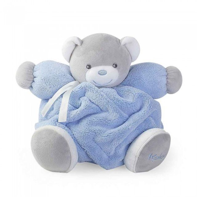Kaloo Kaloo Plume Small Musical Chubby Bear Blue