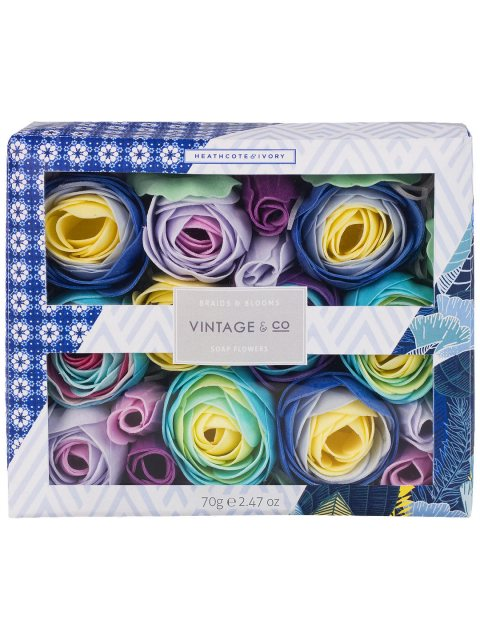Vintage & Co. Braids & Blooms Soap Flowers 70g