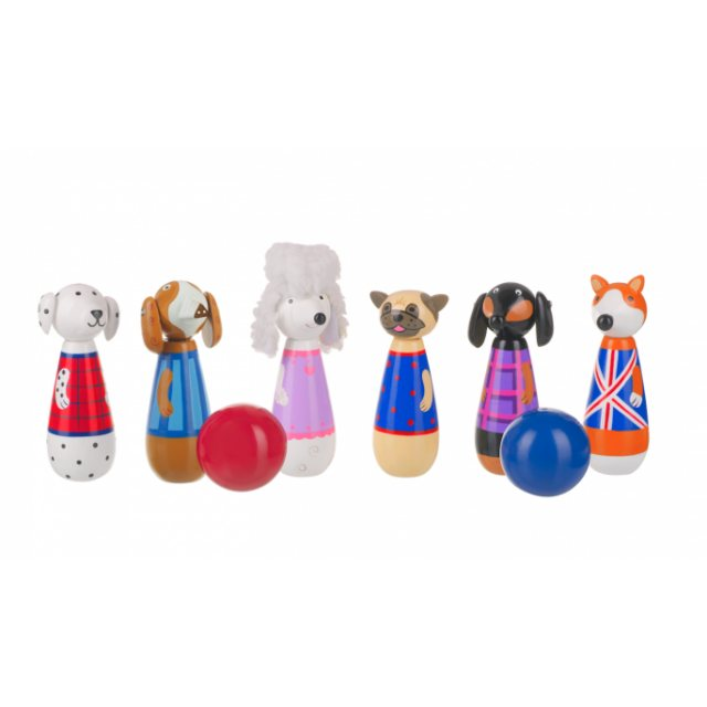 Orange Tree Wooden Puppy Skittles