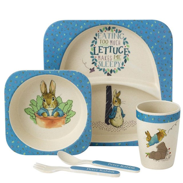 Peter Rabbit Peter Rabbit Organic Bamboo Dinner Set