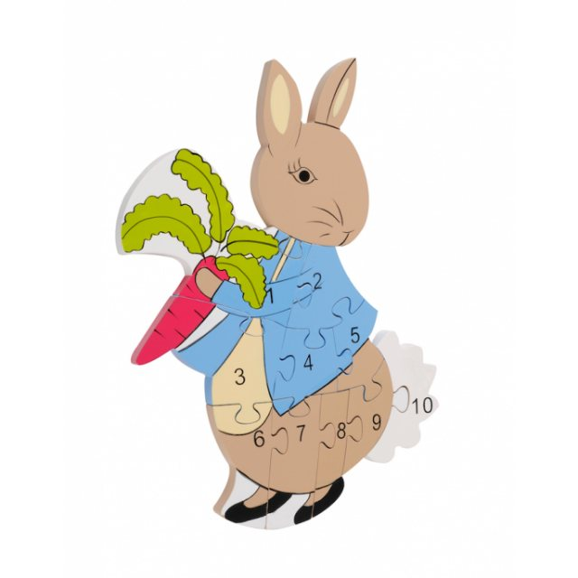 Peter Rabbit Peter Rabbit Number Puzzle