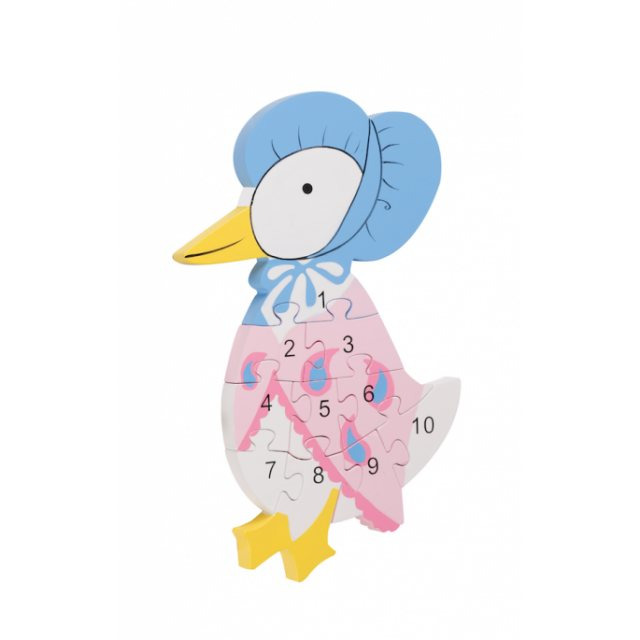 Peter Rabbit Jemima Puddle-Duck Number Puzzle