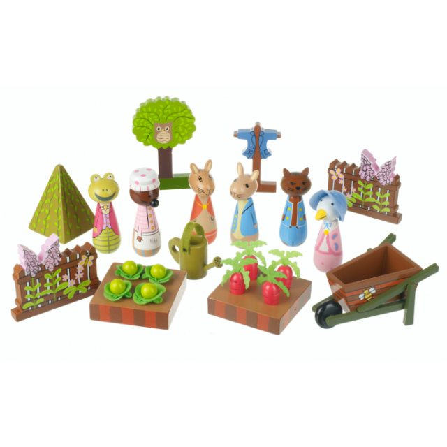 Peter Rabbit Peter Rabbit Wooden Play Set