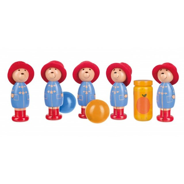 Paddington Bear Paddington Bear Wooden Skittles